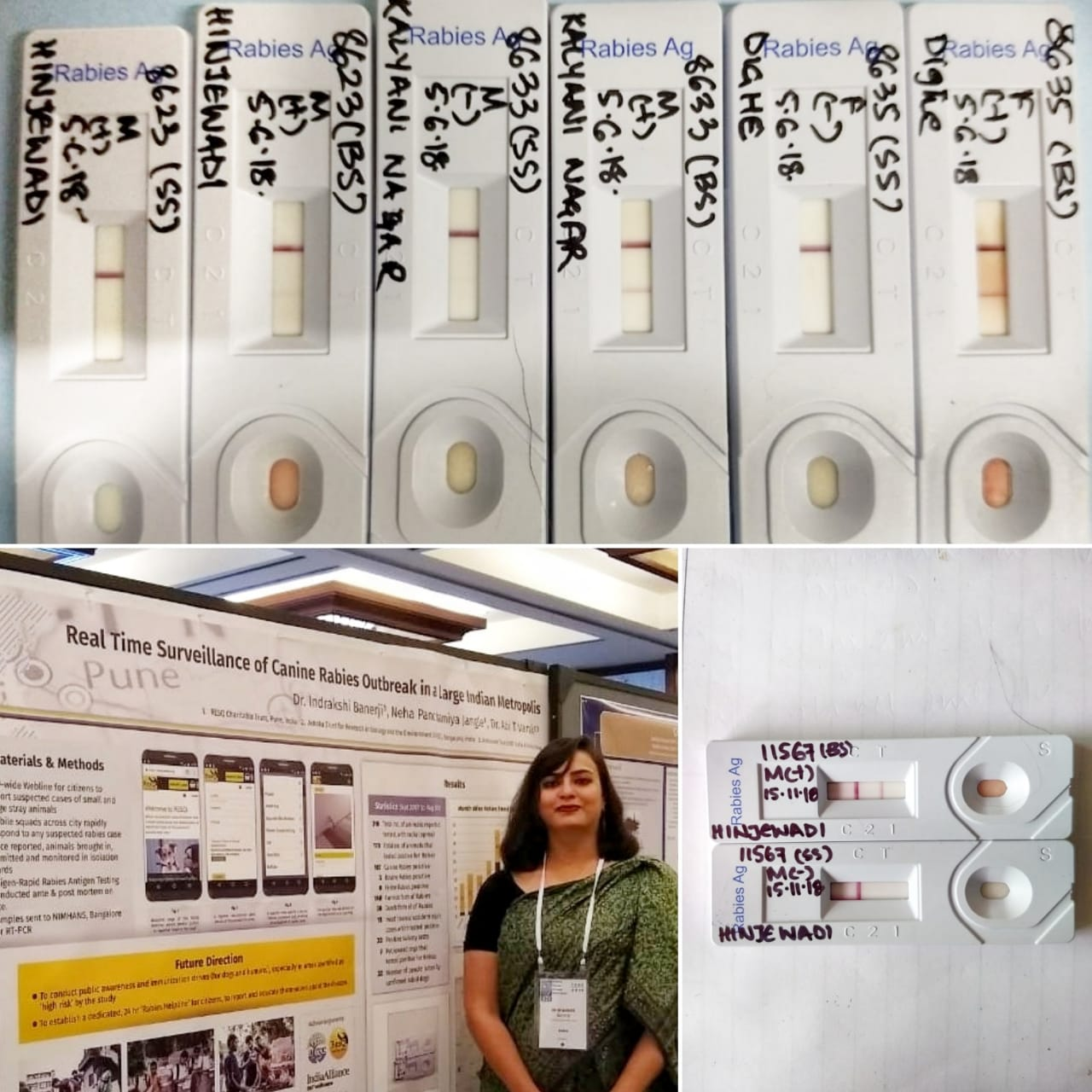 Rabies Testing Kits | Dr. Indrakshi Banerji presenting our work at the CDC in Atlanta (2018)